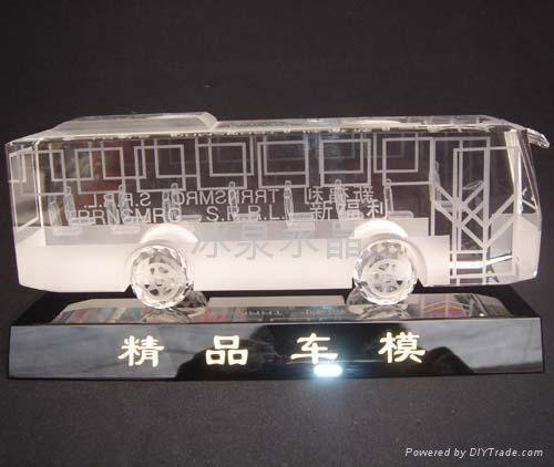 水晶船模 5