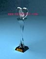 水晶獎杯工藝品