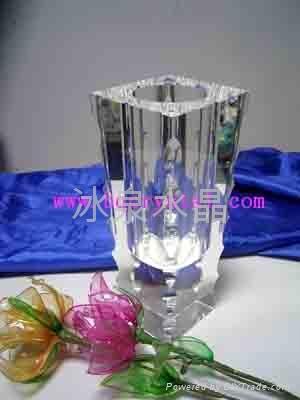 水晶花瓶擺件 1