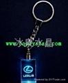 水晶鑰匙扣挂件