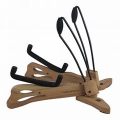 折叠木制吉他支架