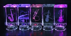 Christmas gifts,Crystal Musical Gifts