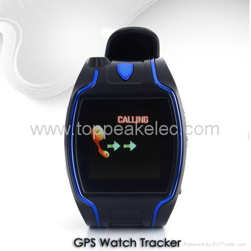 Wrist Watch GPS Tracker with call and SOS 1