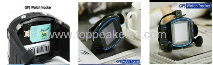 Wrist Watch GPS Tracker with call and SOS 2