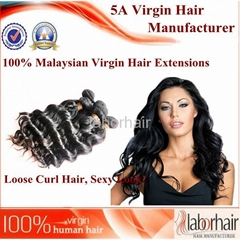 100% Virgin Malaysian Hair Extensions 5A quality