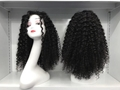 Virgin Human Hair Full Lace Wig with Baby Hair (002 Curly) 3