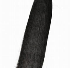 100% Straight Chinese Unprocessed Virgin Human Hair Extensions (Bleach Blonde) w