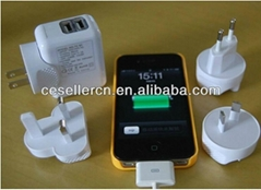 Universal All-In-One Multi Travel Plug Adapter AU UK USA EU