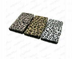 Wholesale Cover Leopard Leather case for Blackberry Z10 Wallet Leather Case