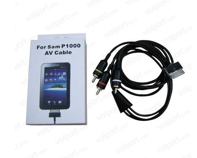 AV Cable For Samsung Galaxy Tablet P1000 2