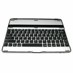 New Bluetooth Keyboard Aluminium Stand Docking Case for iPad 2/3/4
