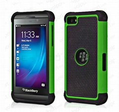 Hot hard Case + Silicone for Blackberry Z10 cover