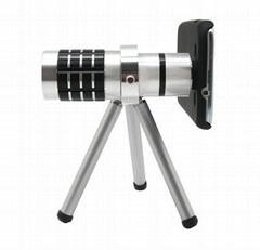 12 X Zoom Optical Telescope Lens + Tripod + Case for Samsung Galaxy S3