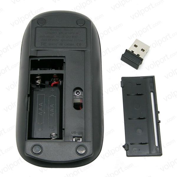 Portable New Arrival USB Receiver RF 2.4GHz Optical Wireless Mouse for PC 4