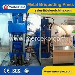 Hydraulic Scrap Metal Briquette Press