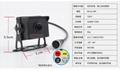 新品7寸大屏内置2分割前后双录显示器客货车行车记录仪 3