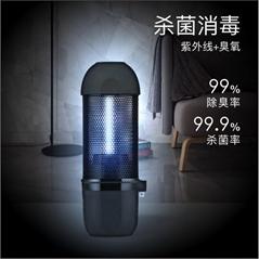 汽車消毒燈智能滅菌燈紫外線臭氧雙重消殺除臭便攜防疫小衛士