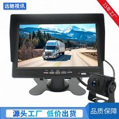 7寸10.1寸车载显示器录像功能无光夜视