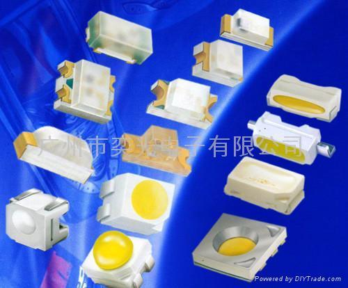 0805蓝光贴片LED灯珠促销 3