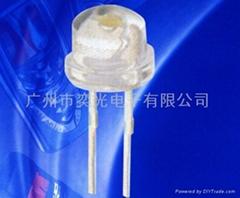 草帽头专利白光插件LED