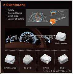 汽車電子汽車儀表用貼片LED