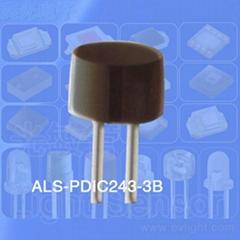 环境光或可见光感应管的光敏管
