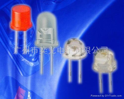 草帽头专利白光插件LED 3