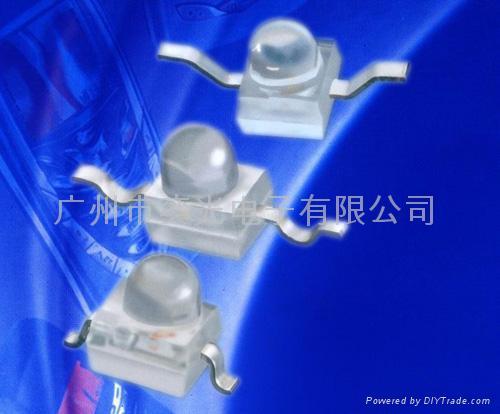 草帽头专利白光插件LED 4