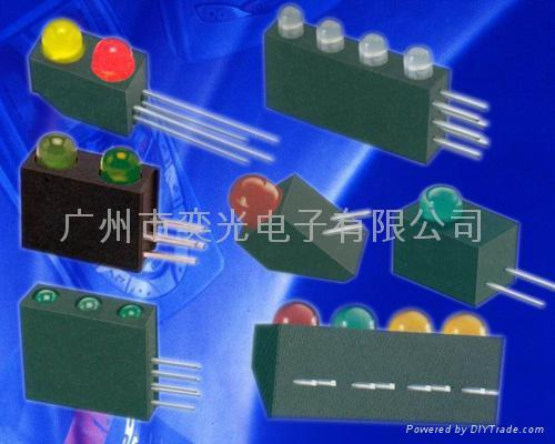 草帽头专利白光插件LED 5