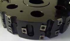 專用銑刀盤定製各種成型專用可轉位機夾式銑刀盤