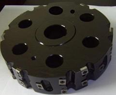 機夾式盤銑刀定製各種可轉位刀片式銑刀盤