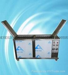 400w二槽超声波清洗机