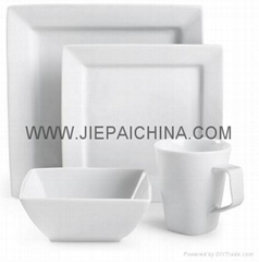 陶瓷方型餐具