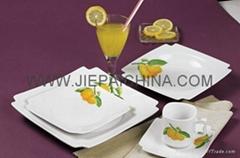 陶瓷方形餐具