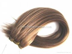 Human Hair Weft/Machine Hair Wefts