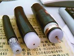 Electrostatic precipitator high voltage DC cables