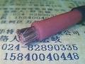 High temperature silicone rubber cable 5