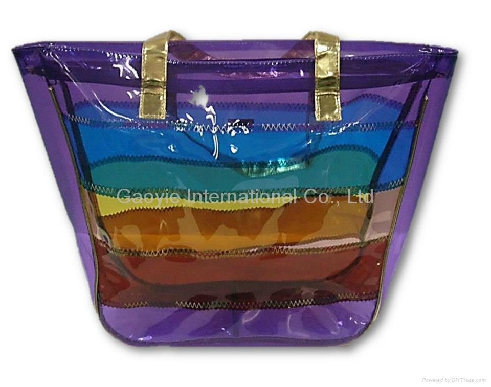 防水pvc海灘袋