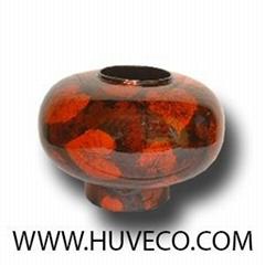 Lacquer Decor Vase