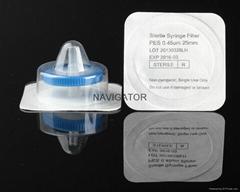 灭菌独立包装针式过滤器