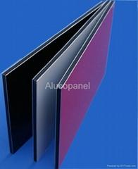PVDF aluminium composite
