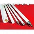 Corundum alumina ceramic roller ceramic tube