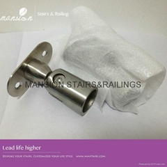 Round Pipe Stainless Steel Handrail Bracket