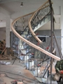 Wrought Iron Spiral Staircase N25 Mansion China