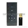 RF remote control 2.4G wireless remote control