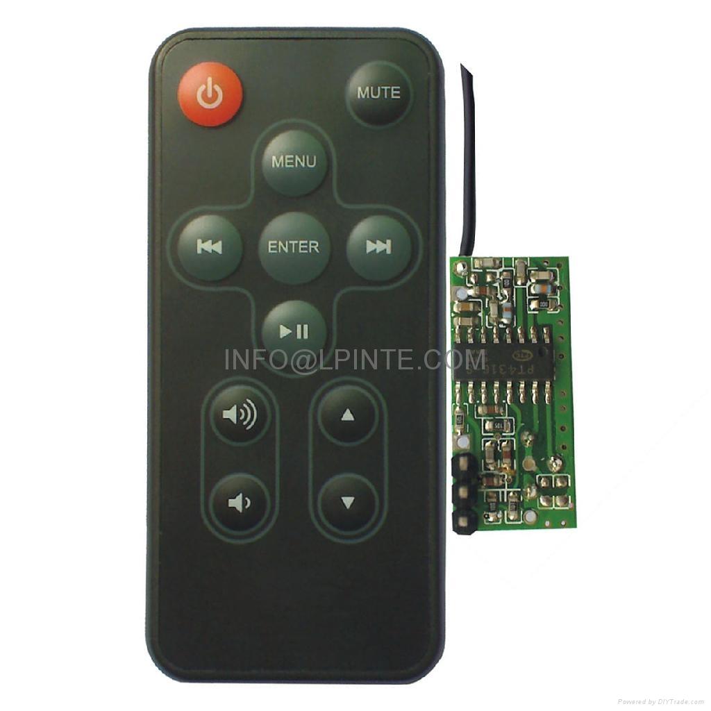 RF remote control 2.4G wireless remote control 4