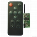 RF remote controller 2.4G wireless
