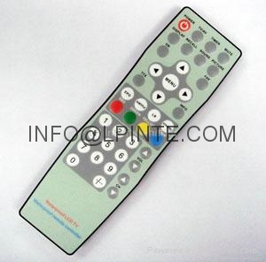 lcd tv remote control LPI-W053 IP67 remote auto parts STB TV BOX 3