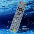 waterproof  remote control LPI-W061 bathroom tv outdoor tv  STB TV washable 2