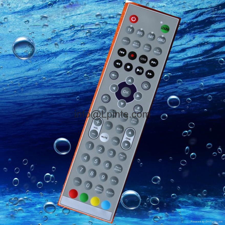clean washable waterproof tv remote control for hotel hospital home 2